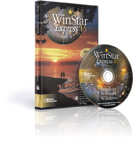 Win*Star Express V3 - Astrological Chart Calculation program