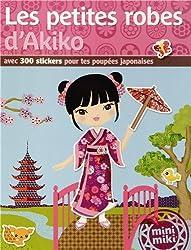 Stickers Minimiki : Les petites robes d'Akiko