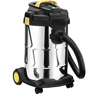 Syntrox Germany 2000 Watt 30 Liter Selbstreinigender Staubsauger Edelstahl Industriesauger mit Steckdose  BaumarktKritiken und weitere Informationen
