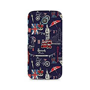 Ebby London Fusion Premium Printed Case For Moto G2