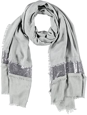 PASSIGATTI Women's Scarf -  Silver - Silber (4-grau) - One size