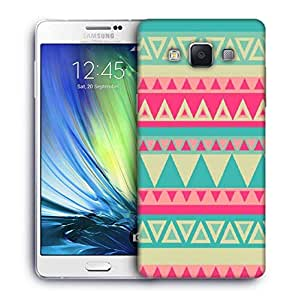 Snoogg Aztec pink Designer Protective Back Case Cover For Samsung Galaxy A7