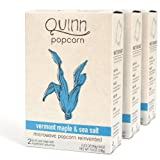 Quinn Popcorn: Microwave Popcorn Reinvented {Vermont Maple & Sea Salt},3 pack