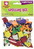 Creative Hands by Fibre-Craft - 175-Piece Spelling Bee Foam Stickers - Arts and Crafts - No Scissors or Glue Required - For Ages 3 and Up