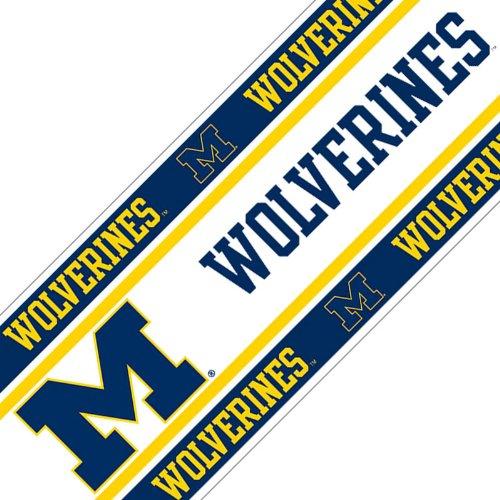 Ncaa Michigan Wolverines Wall Border front-600183