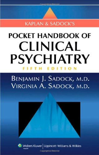 Kaplan and Sadock's Pocket Handbook of Clinical...