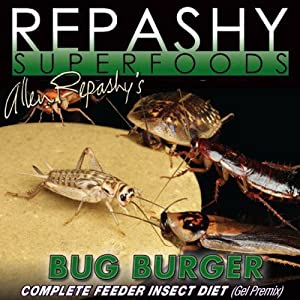 Repashy Bug Burger 64oz Bag Complete Feeder Insect Diet