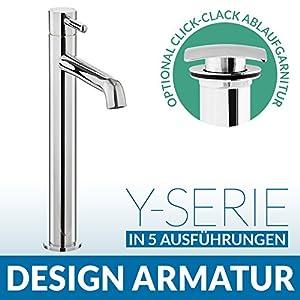 Design EinhebelWaschtischarmatur Wasserhahn YSerie Maxi  BaumarktÜberprüfung und weitere Informationen
