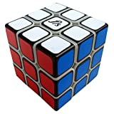 Fangshi Shuangren Black Based Sticker on Primary Body 3x3x3 New Fangshi Funs Speed Cube Puzzle, 5.46cm