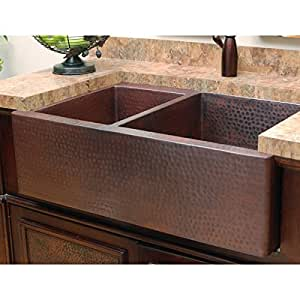 36 Inch Farm Sink : ... 36 Inch Farmhouse Sink SC-HD46-36-A Antique - Double Bowl Sinks