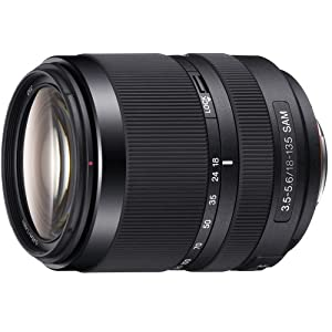 Sony 18-135mm F3.5-5.6 SAM A-Mount Lens