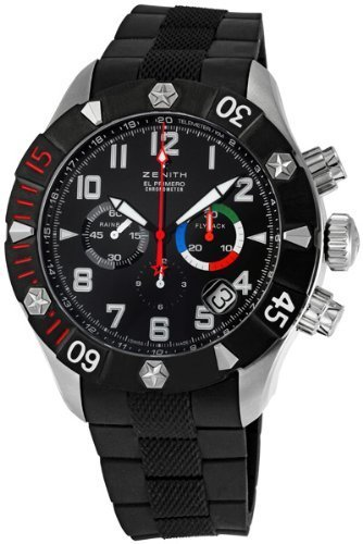 Zenith Defy Rainbow Flyback Chronograph Mens Watch 030527400021R642