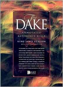 dake bible pdf free download