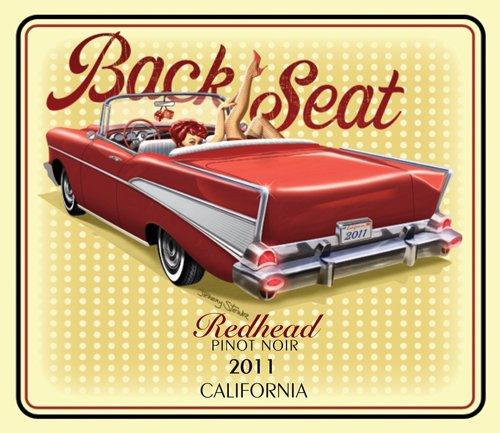 2011 Back Seat Redhead Blend - Red 750 Ml