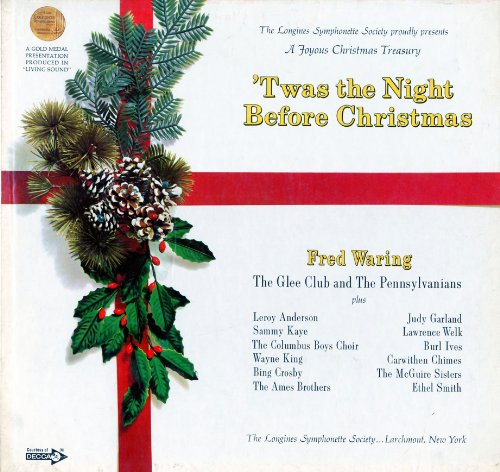 Audio CD. Twas the Night Before Christmas. Longines Symphonette. Fred Waring. Readers... by Fred Waring and The Pennsylvanians