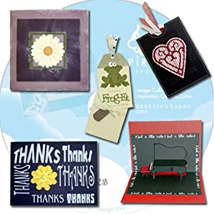 Pazzles CD 39: Greeting Cards WPC Cutting Files