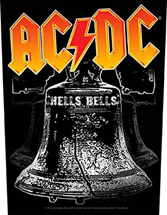 Amazon.com: AC/DC Hells Bells Official Patch: Clothing