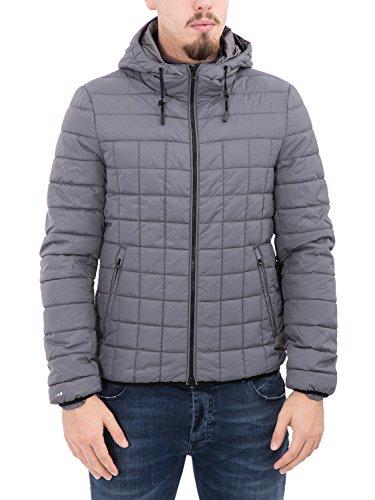 BOSIDENG - Giubbotto piumino uomo con cappuccio f06itm50 xxl grigio