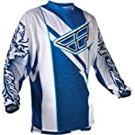 Fly Racing F-16 Race Jersey, Blue/White, Size: Md 365-521M