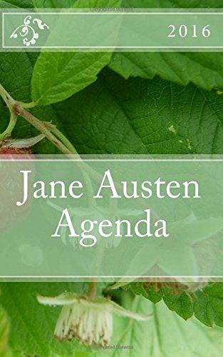 Jane Austen Agenda 2016: - English Edition -