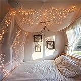 100er LED Lichterkette Warmweiß Innen für Weihnachten...