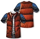 Back to the Future - Mcfly Vest (Front/Back Print) T-Shirt Size L