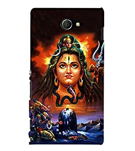 Shankara 3D Hard Polycarbonate Designer Back Case Cover for Sony Xperia M2 Dual D2302 :: Sony Xperia M2