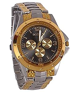 Fighter Gold Rosra Classic Men's Analog Watch RosraSGBD