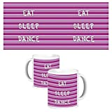 ToduGift Eat sleep & dance mug