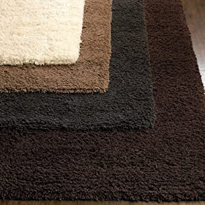 Leather shag rug 5 x 8 - PRICE REDUCED