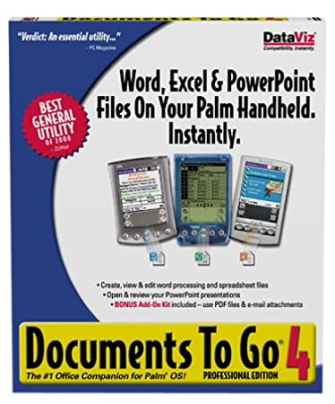 Documents to Go Pro 4.0 (DVD Packaging)