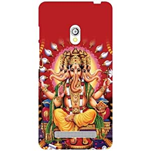 Asus Zenfone 5 A501CG Back Cover - Peace When Pray Designer Cases