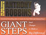 Giant Steps: Small Changes to Make a Big Difference (0743409361) by Robbins, Anthony