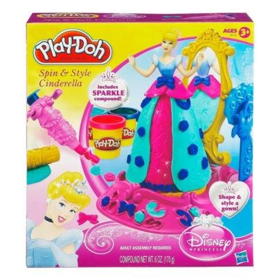 Play-Doh Disney Spin and Style Cinderella