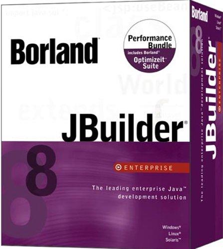 JBuilder 8.0 Enterprise Performance Bundle Upgrade From JBuilder 8.0 Enterprise