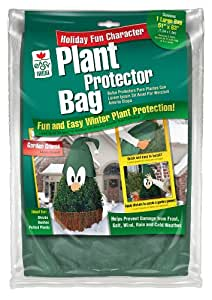 Easy Gardener Plant Protecting Bag, 51-Inch by 63-Inch, Garden Gnome