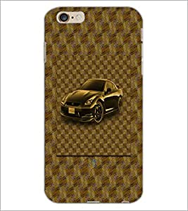 PrintDhaba Car D-3870 Back Case Cover for APPLE IPHONE 6S (Multi-Coloured)