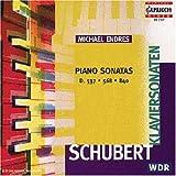 Schubert: Piano Sonatas, D537, D568, D840