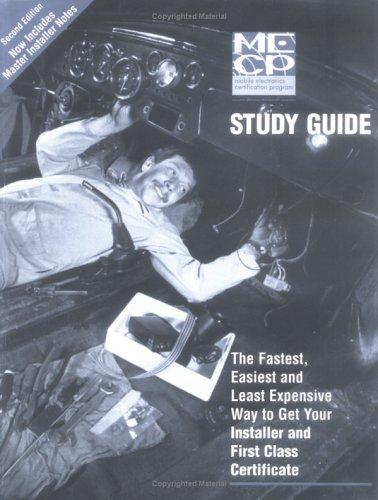 Mobile Electronics Certification Program (MECP) Study Guide (Certification Programs compare prices)