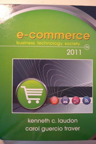 E-Commerce Business: Technology, Society