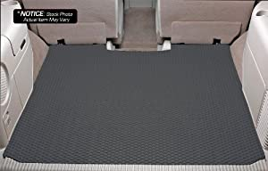 Acura TL Lloyd Mats Rubbertite Custom-Fit All-Weather Rubber Floor Mats Trunk Area - With Navigation - Grey (2004 04 2005 05 2006 06 2007 07 2008 08 )