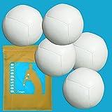 Bolas Pro Kit de 6 lados 128g piel blanca 5 'Thomas Dietz', llenando semillas + vivienda