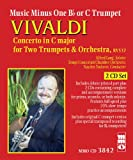 img - for Music Minus One Bb Trumpet or C Trumpet: Vivaldi--Concerto for Two Trumpets & Orchestra RV 537 (Sheet Music and 2-CD Set) book / textbook / text book