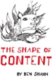 The Shape of Content (Charles Eliot Norton Lectures 1956-1957) (The Charles Eliot Norton Lectures)
