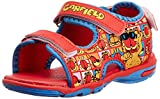 Garfield Boy's Red Sandals and Floaters - 8C UK