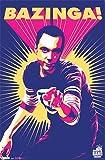 The Big Bang Theory Poster Bazinga - Poster Großformat