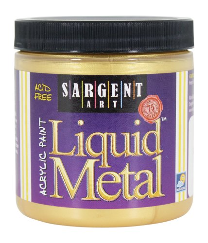 sargent-art-22-1181-8-ounce-liquid-metal-acrylic-paint-gold
