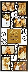 New View Family Metal Framed Art Tile Collage Frame