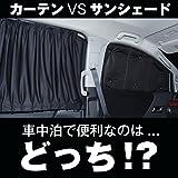 『01s-d004-fu』【日本製】ミニキャブバン DS17V系 遮光 カーテン サンシェード フロント用 車中泊 仮眠 盗難防止 燃費向上 紫外線 日除け
