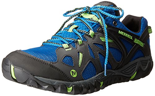 Merrell Men's All Out Blaze Aero Sport Hiking Water Shoe, Bright Blue, 11.5 M US